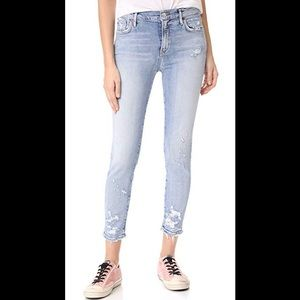 AGOLDE 'Sophie high rise crop skinny jeans '